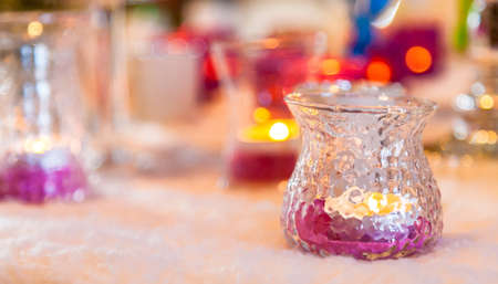 incandescence: many candles