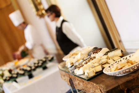 Food at a wedding or catering event photo