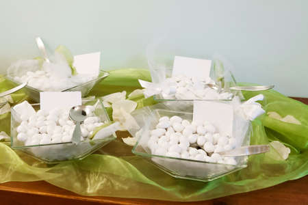 white candy for a wedding Stock Photo - 19583316