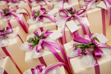 food buffet: beautiful wedding gift for guest