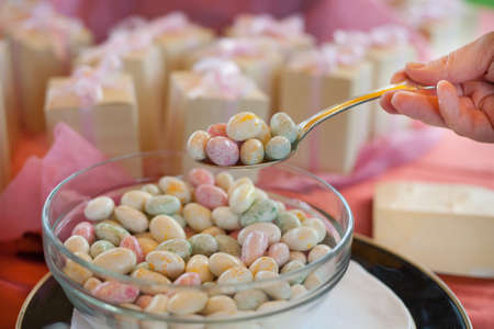 colored candy for a wedding Stock Photo - 20568267