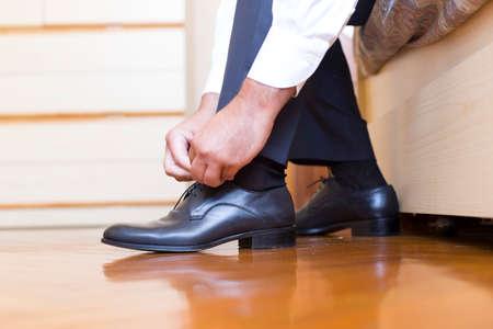 groom shoes photo