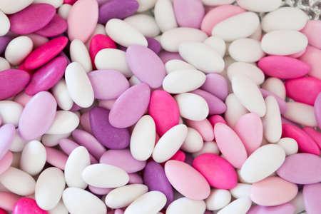 sugared almonds: sugared almonds