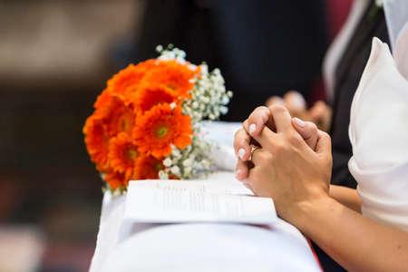 witnesses:  wedding church
