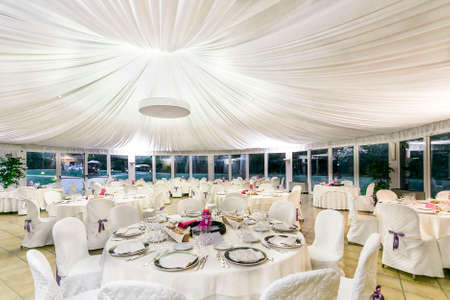 the reception: tablas de la recepci�n de la boda
