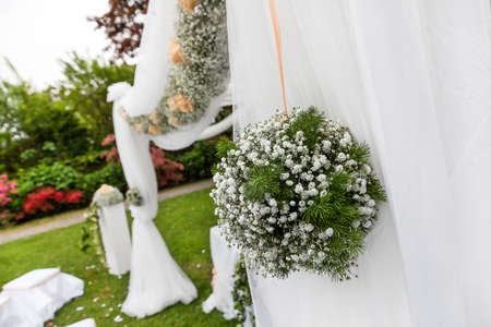wedding ceremony outdoor photo