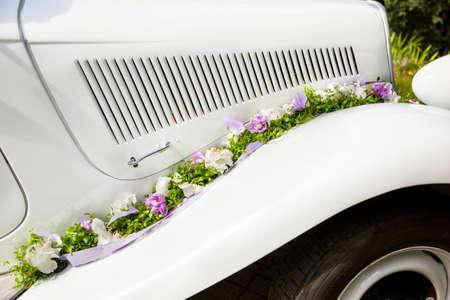 voiture ancienne: Mariage Vintage vieille voiture