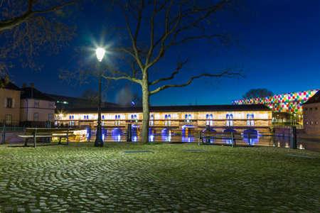 alsace: Barrage Vauban Strasbourg Alsace France Editorial