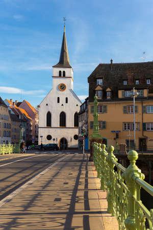 alsace: St Guillaume Strasbourg Alsace France