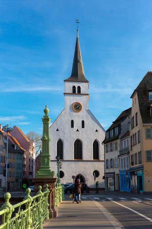 St Guillaume church Strasbourg Alsace France