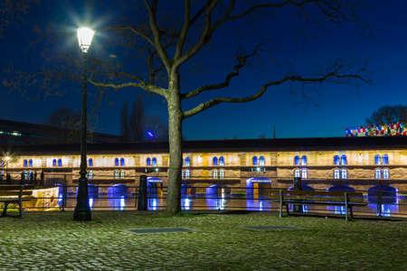 barrage: strasburg Barrage Vauban alsace Editorial