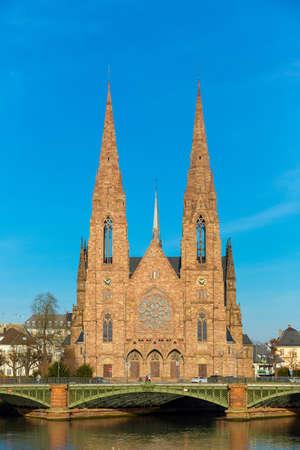 paul: St. Paul Church Strasbourg, Alsace, France