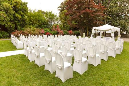 outdoor huwelijksceremonie