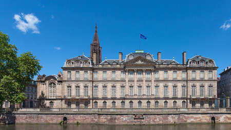 strasbourg: Rohan Palace in Strasbourg, Alsace, France. Editorial