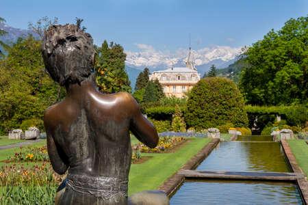 affluence: Garden of Villa Taranto, on Lake Maggiore, Piedmont, Italy