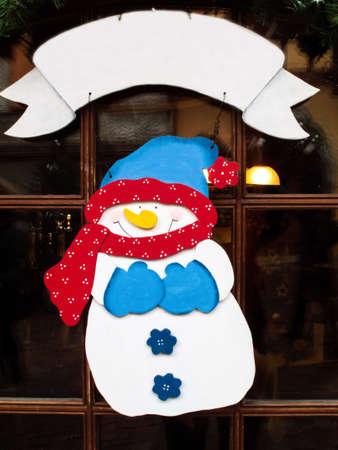 snowman vector illustration sign Stock Photo