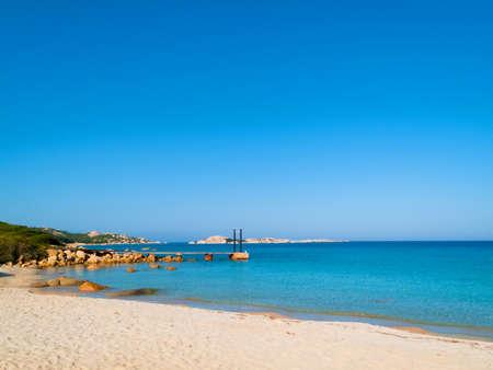 The marmorata beach, Gallura, Sardinia, Italy