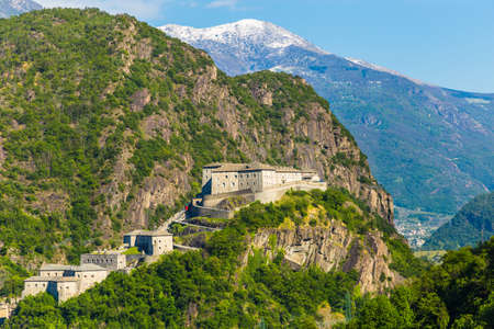 Aosta Valley, Fort of Bard, Italy