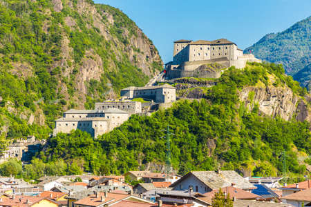 bard: Aosta Valley, Fort of Bard, Italy