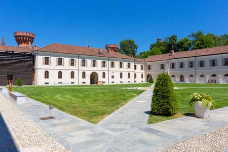 Pollenzo castle ,Piedmont Italy.
