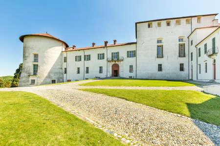 Masino castle in Piedmont region, north Italy