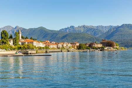 Baveno little town near at Stresa, on Lake Maggiore, Italy.