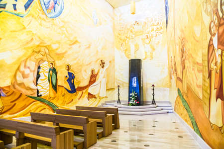 View of  the  Sanctuary of San Giovanni Rotondo, Apulia, Italy. Banco de Imagens - 99367888