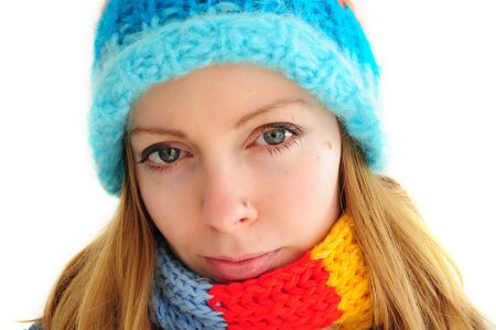 youn woman in winter outfit Stock Photo - 12131314
