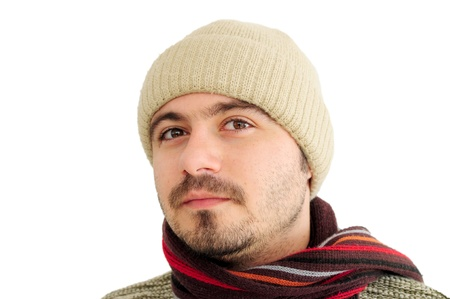 Young man in winter clothes Stock Photo - 12131191