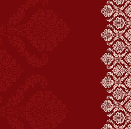 background: Plantilla Simple para la invitación de la boda, aniversario o tarjeta de tarjeta de cumpleaños