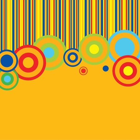 rayas de colores: plantilla para el men�, o tarjeta de invitaci�n Vectores