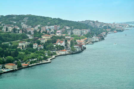 Asian coast of Bosphorus, Istanbul, Turkey photo