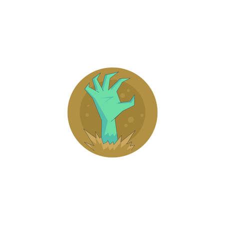 Halloween holiday icon, Hello icon