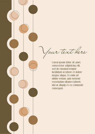 Background beige with abstract elements