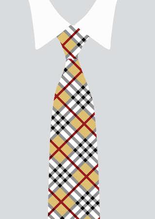 Chemise et cravate; détail Banque d'images - 29125776