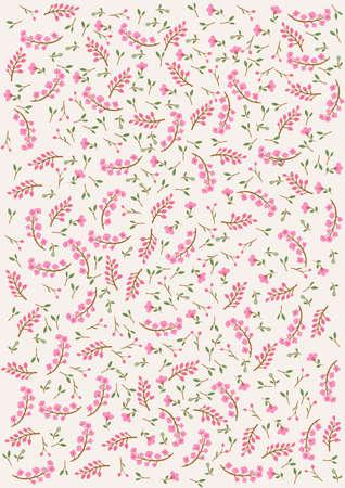 Décoratifs fond floral rose Banque d'images - 29415371