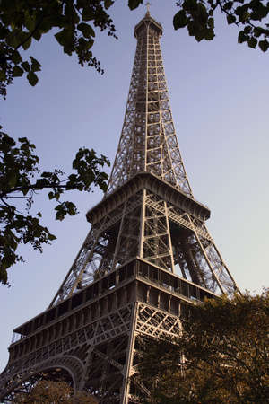 Eiffel tower during the day