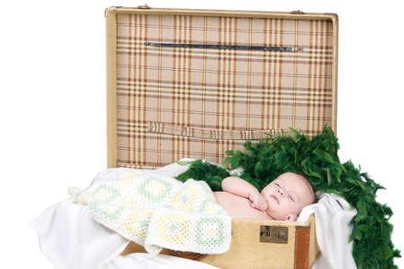 baby boy in studio photo