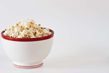 Kom heerlijke popcorn met type ruimte