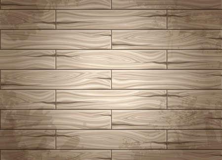 Realistische naadloze textuur van hout, houten planken. Concept ontwerp voor web design. Gebruik textuur. Vastgestelde naadloze achtergrond