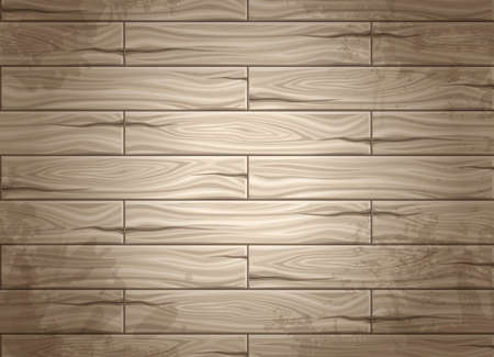 Realistic seamless texture of wood, wood planks. Concept design for web design. Use texture. Set seamless background Illustration