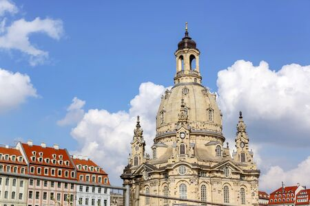 the Cathedral Church of Dresden architecture Dresden Germany