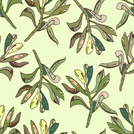 houseplant: houseplant pattern seamless color green leaves