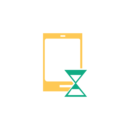 Smartphone icon vector isolated on white background for your web and mobile app design, Smartphone logo concept Vectores
