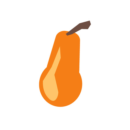 Butternut squash icon vector isolated on white background, Butternut squash transparent sign