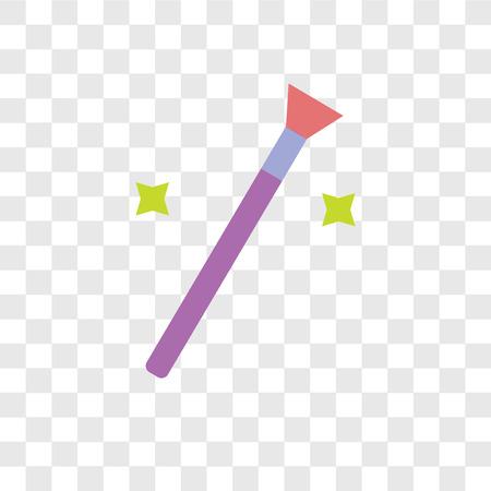 Femenine vector icon isolated on transparent background, Femenine logo concept