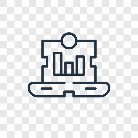 Sales vector icon isolated on transparent background, Sales logo concept