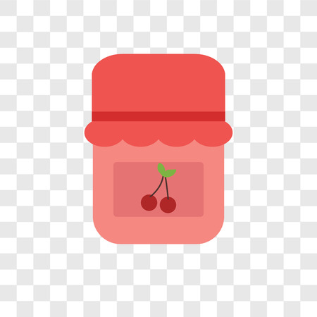 Jam vector icon isolated on transparent background, Jam logo concept