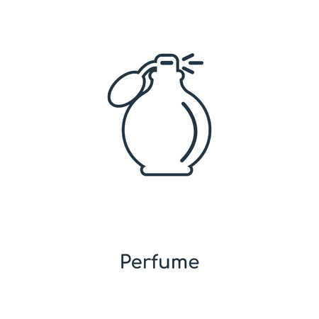 Perfume concept line icon. Linear Perfume concept outline symbol design. This simple element illustration can be used for web and mobile UI/UX.