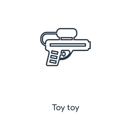 Toy toy concept line icon. Linear Toy toy concept outline symbol design. This simple element illustration can be used for web and mobile UI/UX. Illustration